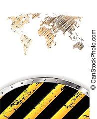 Grunge industrial background design