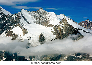 Mountain snow - Beautiful view of snow mountains lanscape