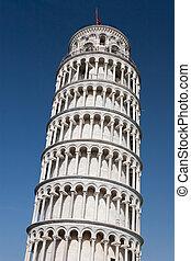 Pisa Tower - Falling Pisa Tower in Italy, Pisa City