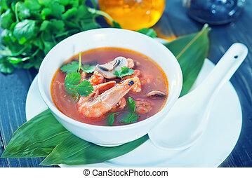 fresh asian soup