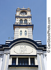 Penang Customs building - Wisma Kastam George Town, Malaysia...