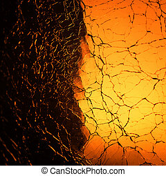 Glass texture background - Abstract of glass crack glass...