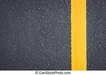 asphalte, route