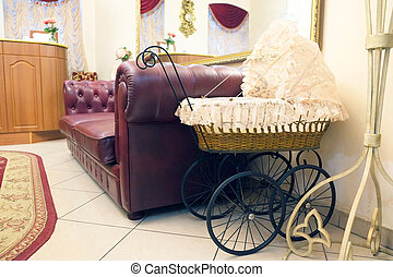 baby carriage - Vintage baby carriage