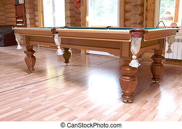 pool table - Green pool table