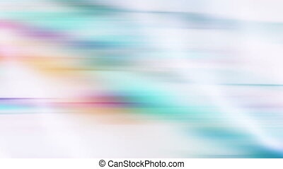 Multicolor Flowing Streaks Loop