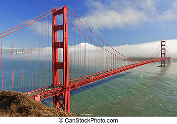 photo golden gate bridge, san francisco, ca, usa