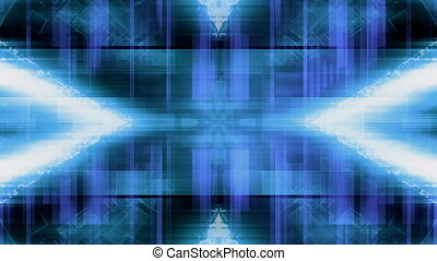 Blue Science Fiction Abstract Loop - Looping Blue Science...