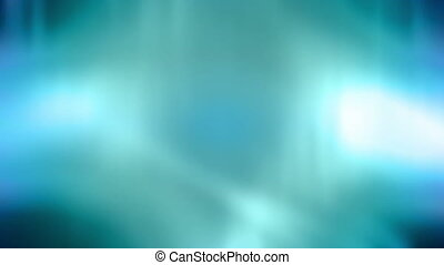 Blue Green Soft Flowing Loop - Looping Blue Green Soft...