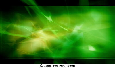 Green Template Style Abstract Loop
