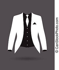 花婿, スーツ, ジャケット, 衣装,