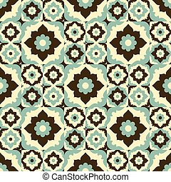 Seamless pattern vintage design - Seamless pattern vintage...