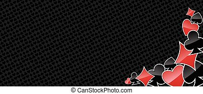 Abstract gambling background - Gambling background with...