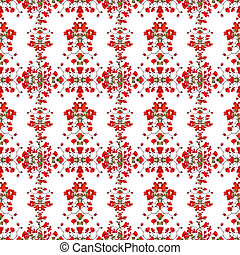 Floral Swirls Decorative Pattern - Beautiful decorative...