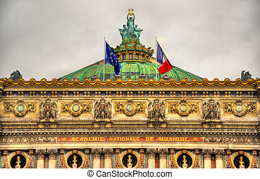 Palais Garnier, a famous opera house in Paris, France