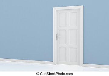 ajtó,  endering