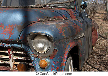 Old Chevy Truck - The light of an old Chevy truck