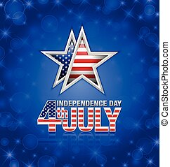 American Independence day star