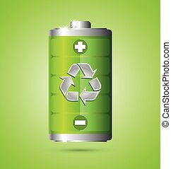 Recycled energy icon