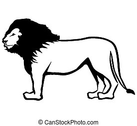 Lion Outline
