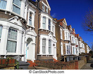 Victorian Terraced Houses - Victorian terraced town houses...