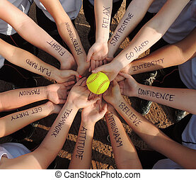 Fastpitch Softball Motivation - A softball team motivation...