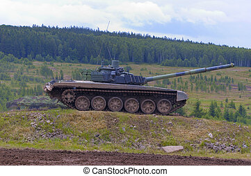 T 72 M tank - russian medium tank serving in czech army