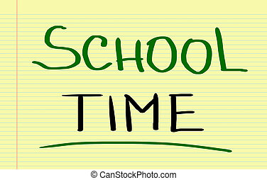 School Time Concept