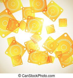 abstract background: dynamic
