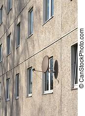 Facade in Magdeburg