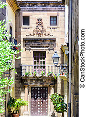 Picturesque house in Catalunya - Poble Espanyol traditional...