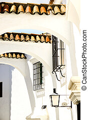 Street Andalusia in Poble Espanyol - Traditional...