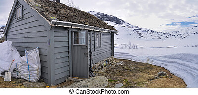Mountain cabin near Trolltunga in Norway