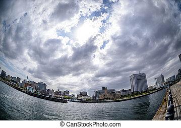 Zou-no-hana Park. Park of Port of Yokohama.