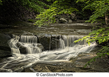 Blue Hen Falls - The small waterfall right above Blue Hen...