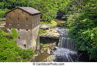 Lanerman's Mill - The historic Lanterman's Mill in Mill...