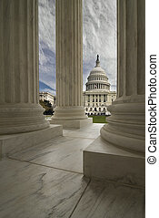United States Capital - The United States Capitol Building...