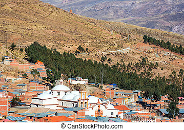 Potosi and San Benito Church