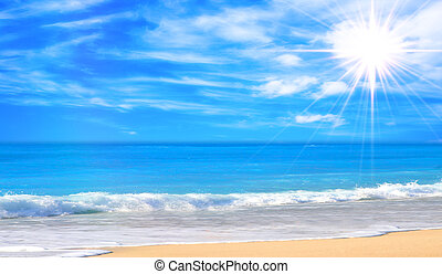海灘, 華麗