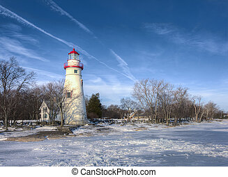 Marblehead Lighthouse - The historic Marblehead Lighthouse...