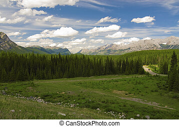 Canadian Rockies - Kananaskis Country in the Canadian...