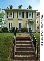 Colonial Style Home - More of a mix of Federal and Colonial...