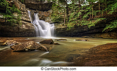 Cedar Falls Ohio - The very beautiful Cedar Falls in Hocking...