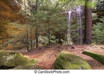 Ash Cave in Hocking HIlls Ohio