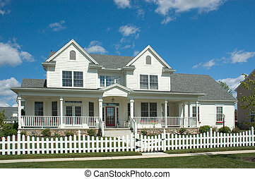 New Home - New home built in the traditon of the Colonial...