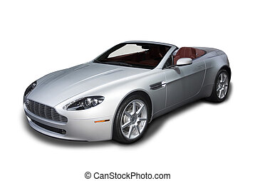 Convertible Sports Car - Beautiful and expensive European...