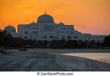 New Presidential Palace in Abu Dhabi - New Presidential...