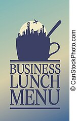 Business Lunch menu. - Business Lunch Menu Card Design...