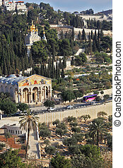 Church of All Nations and the Church of Mary Magdalene -...