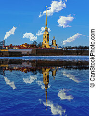 spire - Cathedral of St Peter and Paul Fortress and its...